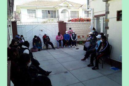 andra år projekt Bolivia