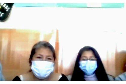 Ester, Estrella, Daniela och Verónica